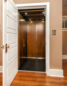 Elevator in home