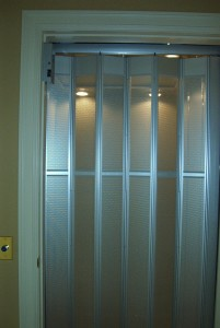 Home elevator with a gate