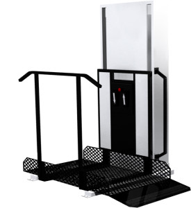Trus-T-Lift™ unenclosed – Porch Lift