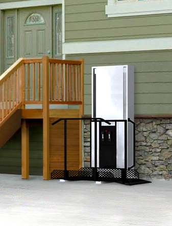 Residential Lifts - What is a Porch Lift? - Uppercut Elevators and ...