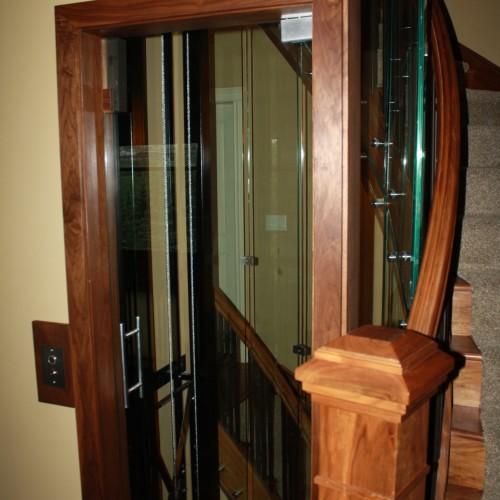 custom glass elevator
