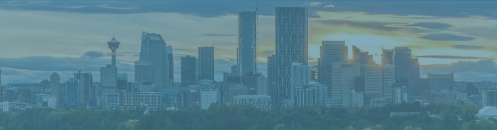 Calgary Skyline, Canada