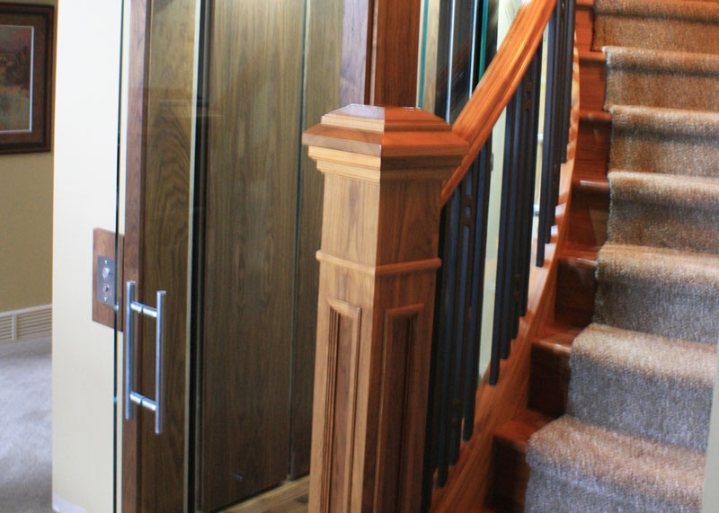 Elegant residential elevators
