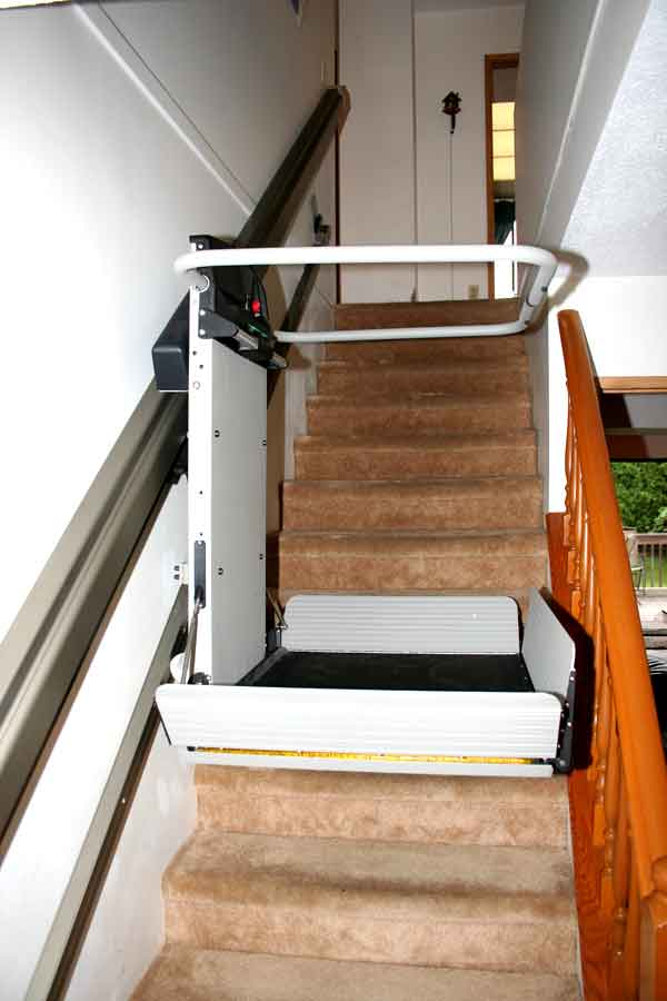 X3 inclined platform lift