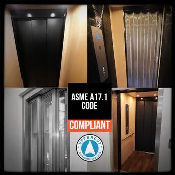 Elevator gates and doors